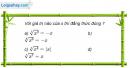 Câu 2.3 trang 70 sách bài tập Giải tích 12 Nâng cao