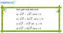 Câu 2.7 trang 71 sách bài tập Giải tích 12 Nâng cao
