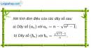 Câu 3.18 trang 89 sách bài tập Đại số và Giải tích 11 Nâng cao