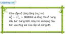 Câu 3.44 trang 92 sách bài tập Đại số và Giải tích 11 Nâng cao