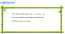 Câu 3.45 trang 92 sách bài tập Đại số và Giải tích 11 Nâng cao