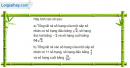 Câu 3.56 trang 94 sách bài tập Đại số và Giải tích 11 Nâng cao