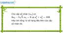 Câu 3.57 trang 94 sách bài tập Đại số và Giải tích 11 Nâng cao