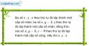 Câu 3.63 trang 95 sách bài tập Đại số và Giải tích 11 Nâng cao