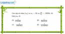 Câu 3.67 trang 95 sách bài tập Đại số và Giải tích 11 Nâng cao