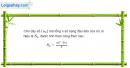 Câu 3.71 trang 96 sách bài tập Đại số và Giải tích 11 Nâng cao