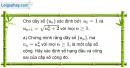 Câu 3.73 trang 97 sách bài tập Đại số và Giải tích 11 Nâng cao