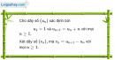 Câu 3.74 trang 97 sách bài tập Đại số và Giải tích 11 Nâng cao