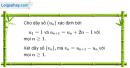 Câu 3.75 trang 97 sách bài tập Đại số và Giải tích 11 Nâng cao