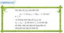 Câu 3.79 trang 99 sách bài tập Đại số và Giải tích 11 Nâng cao