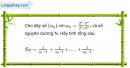 Câu 3.83 trang 99 sách bài tập Đại số và Giải tích 11 Nâng cao