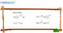 Câu 2.18 trang 73 sách bài tập Giải tích 12 Nâng cao