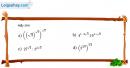 Câu 2.19 trang 73 sách bài tập Giải tích 12 Nâng cao