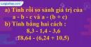 Bài 4 trang 54 (luyện tập) sgk Toán 5
