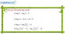 Câu 2.124 trang 90 sách bài tập Giải tích 12 Nâng cao