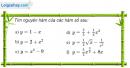 Câu 3.1 trang 141 sách bài tập Giải tích 12 Nâng cao