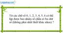 Câu 55 trang 93 SGK Đại số và Giải tích 11 Nâng cao
