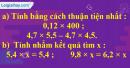 Bài 3 trang 62 Tiết 30 sgk Toán 5