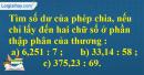 Bài 3 trang 72 Tiết 40 sgk Toán 5