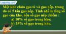 Bài 3 trang 78 Tiết 47 sgk Toán 5