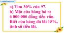 Bài 2 trang 79 Tiết 48 sgk Toán 5