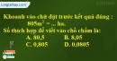Bài 4 trang 80 Tiết 50 sgk Toán 5
