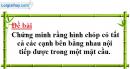 Bài 3 trang 50 SGK Hình học 12