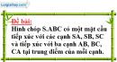 Bài 4 trang 50 SGK Hình học 12