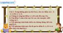 Câu 2 Đề III trang 133 SGK Hình học 12 Nâng cao