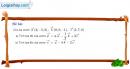 Bài 1 trang 68 SGK Hình học 12