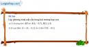 Bài  6 - Trang 68 - SGK Hình học 12