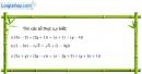 Bài 2 trang 133 sgk giải tích 12