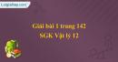 Bài 1 trang 142 sgk Vật lý lớp 12