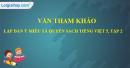 Lập dàn ý miêu tả Quyển sách Tiếng Việt 5, tập hai của em