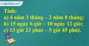 Bài 3 trang 134 sgk toán 5