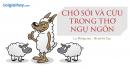 Viết đoạn văn ngắn trình bày cảm nhận của em về hình tượng con cừu và hình tượng chó sói trong thơ ngụ ngôn của La Phông – ten, trong đó có sử dụng ít nhất 2 phép liên kết.