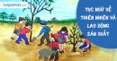 Viết một đoạn văn ngắn phân tích biện pháp tu từ (nghệ thuật) của một trong những câu tục ngữ về thiên nhiên và lao động sản xuất