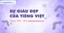 Viết một đoạn văn khoảng 8 câu trình bày suy nghĩ của em về sự giàu đẹp của Tiếng Việt.