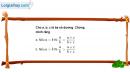 Câu 4.3 trang 103 SBT Đại số 10 Nâng cao