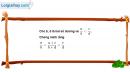 Câu 4.5 trang 103 SBT Đại số 10 Nâng cao
