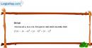 Câu 4.11 trang 104 SBT Đại số 10 Nâng cao