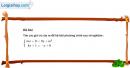 Câu 4.40 trang 108 SBT Đại số 10 Nâng cao