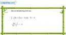 Câu 4.44 trang 109 SBT Đại số 10 Nâng cao