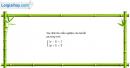 Câu 4.50 trang 110 SBT Đại số 10 Nâng cao