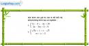 Câu 4.92 trang 117 SBT Đại số 10 Nâng cao