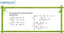Câu 4.95 trang 118 SBT Đại số 10 Nâng cao