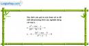 Câu 4.96 trang 118 SBT Đại số 10 Nâng cao