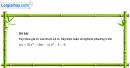 Câu 4.97 trang 118 SBT Đại số 10 Nâng cao