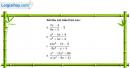 Câu 4.98 trang 118 SBT Đại số 10 Nâng cao