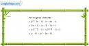 Câu 4.101 trang 119 SBT Đại số 10 Nâng cao
